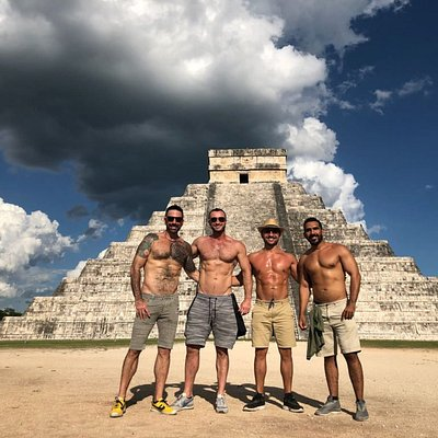 The pyramid of Kukulkan, Chichen Itza