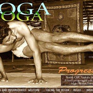 Progressive Yoga Varkala Logo