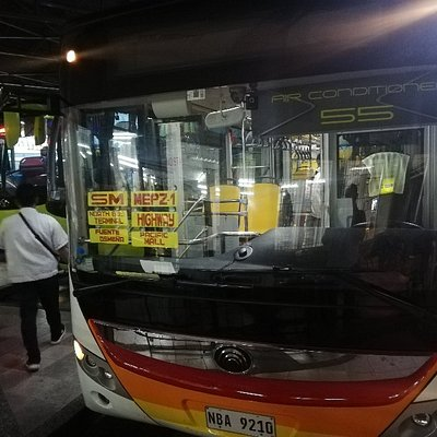 """Sugbo transit: Southern bus terminal to """"Airport"""""""