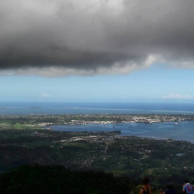 The view from the mountain