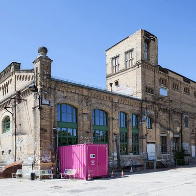 Kunstkraftwerk Leipzig, ehemaliges Heizwerk.