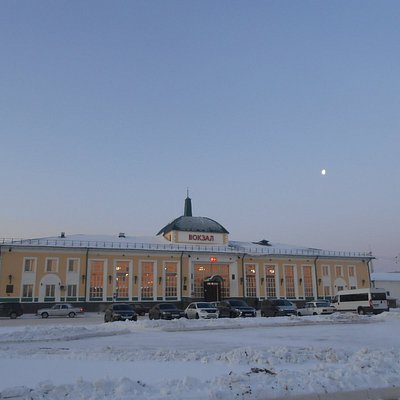 ТАЙШЕТ / Tayshet Railway Station, Russian Siberia.
