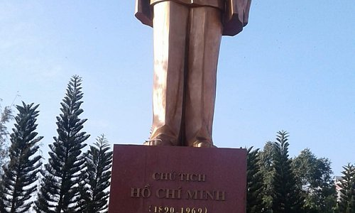 Monument of Ho Chi Minh in Can Tho