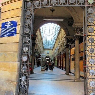 Galerie Bordelaise, rue Saint-Rémi/ rue Sainte-Catherine