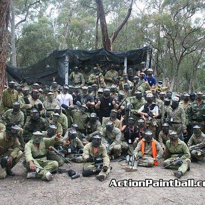 Massive bucks party on the Gallipoli field!