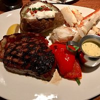 Filet Mignon & Crab