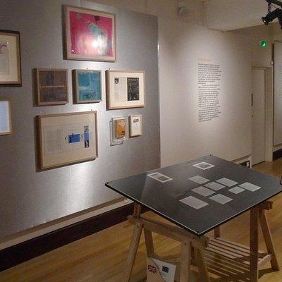 Musee de l'Imprimerie de Lyon. На выставке Уорхола