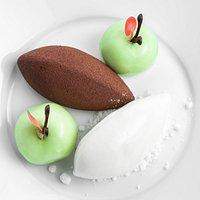 Groene appel | witte chocolade | yuzu