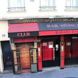 Вид на клуб с улицы
