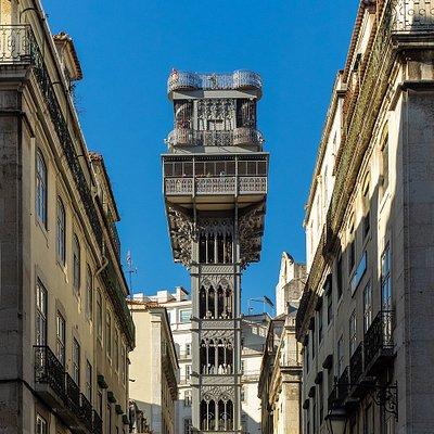 Elevador de Santa Justa in Lissabon (© Ben Walther)