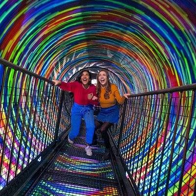 Vortex Tunnel at Camera Obscura & World of Illusions, Edinburgh