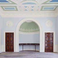 The Eating Room at Pitzhanger Manor, 2018. Image © Andy Stagg.