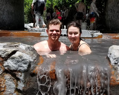 Satisfaction all in a smile don't  they  look 10 years younger #mudbath #sulphursprings #letherinspireyou #islandtimetours #st.lucia