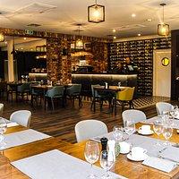 Wnętrze restauracji Rusałka