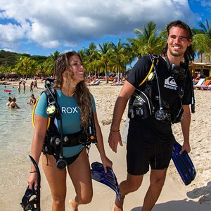 5 Star PADI IDC Blue Bay Dive & Watersports, Curacao is the ideal place for shore diving & training dives.