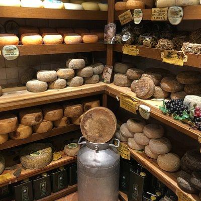 Marusco e Maria Enoteca - os queijos