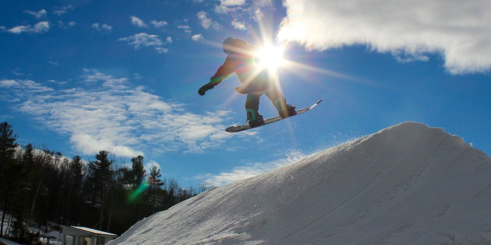 Try skiing, snowboarding, snowshoeing, fat biking or hiking at the small hill with big heart.