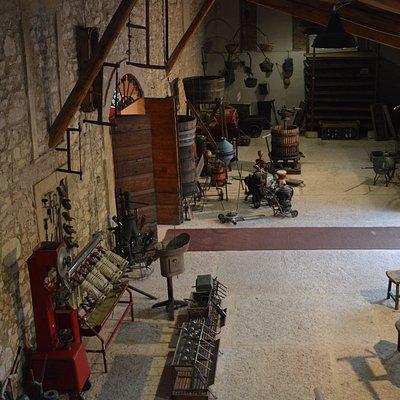 A visit at the Wine Museum of Villa Canestrari