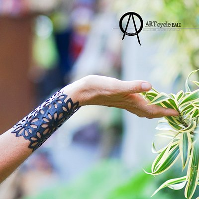 Double Flower bracelet