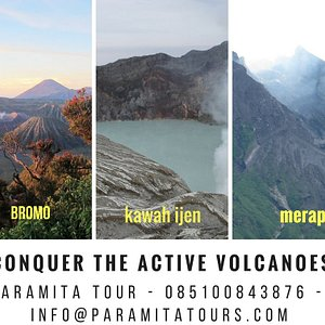 explorig the active volcanos in java