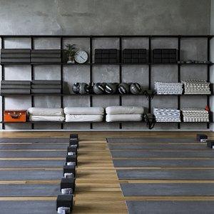 Material Yoga studio. Moscow