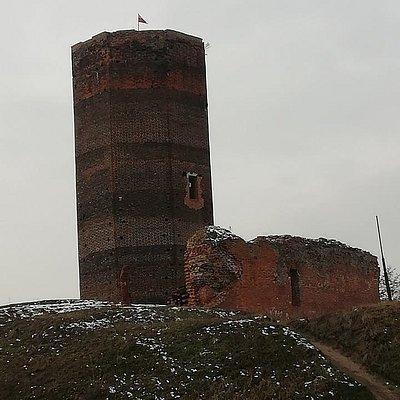 Wieża widokowa- ruiny zamku  XIV wiek
