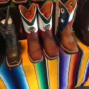 Stylist boots at the flea market