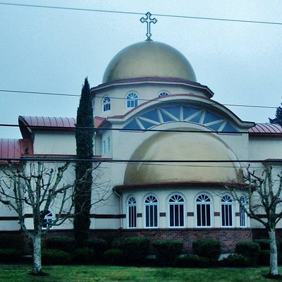 Front view of Church