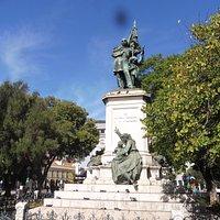 Statue du marquis Sá da Bandeira