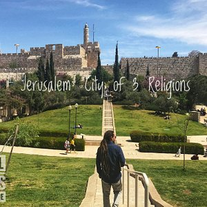Tower of King David & the holy Citadel of Jerusalem Old City. Discover Jerusalem with Nico the Guide.  Private Tours & Travel in Israel