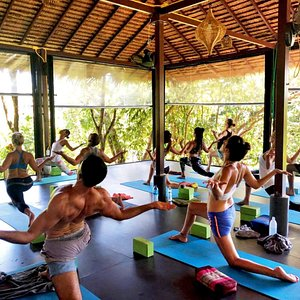 Drop-in yoga classes. Check our daily schedule on our website www.omsunnyyoga.com or Facebook/SunnyYoga