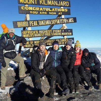 Successful Kilimanjaro climb