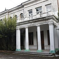 Дом И. С. Мальцова в Симеизе. Северный фасад.