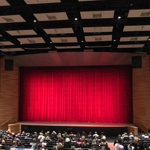 10-20-18 The Rialto right before the performance of Ailey II dance company.