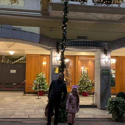 Hotel maravilhoso! Bem localizado