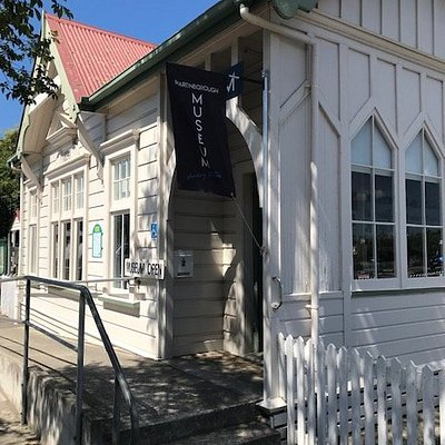 Martinborough Museum in the square, constructed in 1894 by the town board as a librRy, now full of fascinating items explaining the towns history. Be sure to leave a small donation so the work can continue.