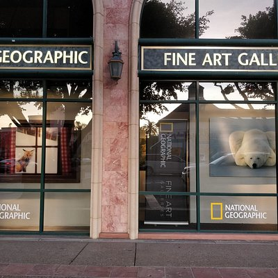 National Geographic Fine Art Galleries at La Jolla, California
