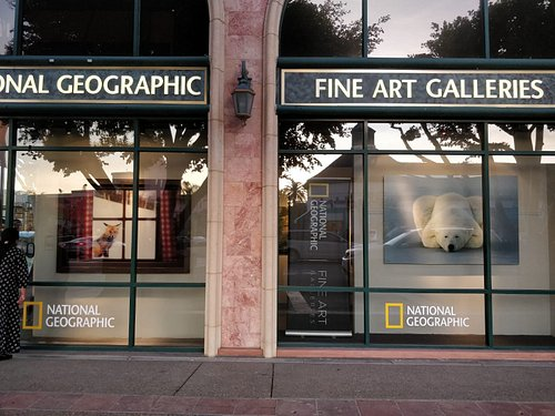 National Geographic Fine Art Galleries at La Jolla, California