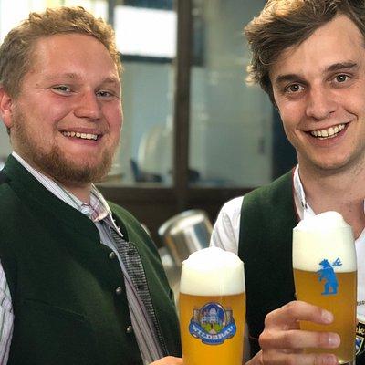 Braumeister Johannes Hartwig & Bräu Gregor Schlederer
