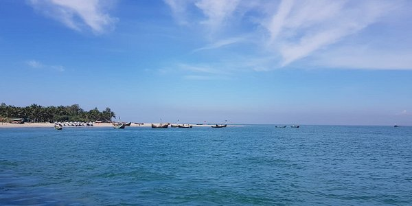St. Martin's Island is a small island in the northeastern part of the Bay of Bengal, about 9 km south of the tip of the Cox's Bazar-Teknaf peninsula, and forming the southernmost part of Bangladesh.