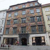 painted house (Gemaltes Haus)