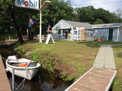 Boat rentals,marine fuel,chips,ice cream