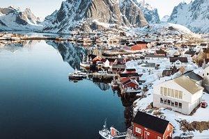 Reine, il più bel villaggio della Norvegia.