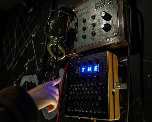 Enigma machines at work!