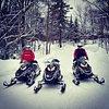 Snowmobile Gal