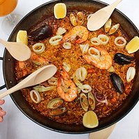 Paella is meant to be shared!