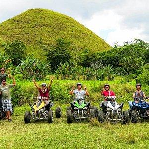 Chocolate Hills Tour Bohol w/ ATV Ride