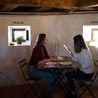 ¿Alguna vez has comido dentro de un molino de viento?