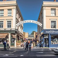 Greenwich Market main entrance Greenwich Church Street into Durnford Street. @edsimmons