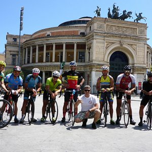 Tour in bici da corsa della Sicilia
